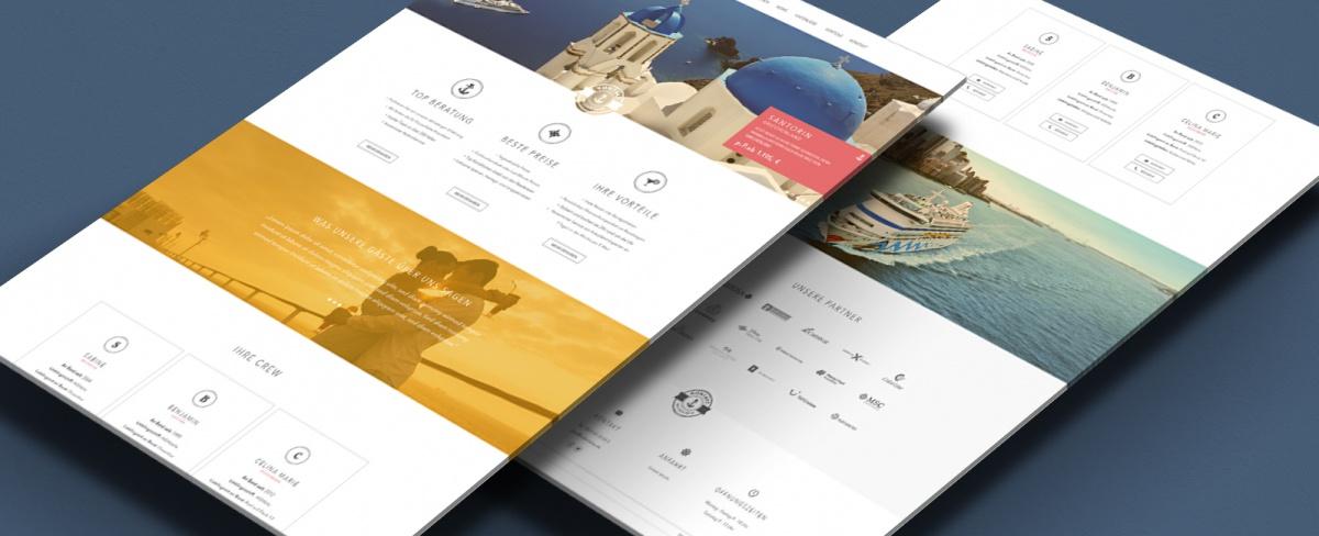 Hafenliebe Webdesign