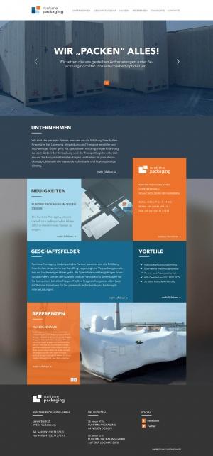 Packaging_Webdesign-Startseite